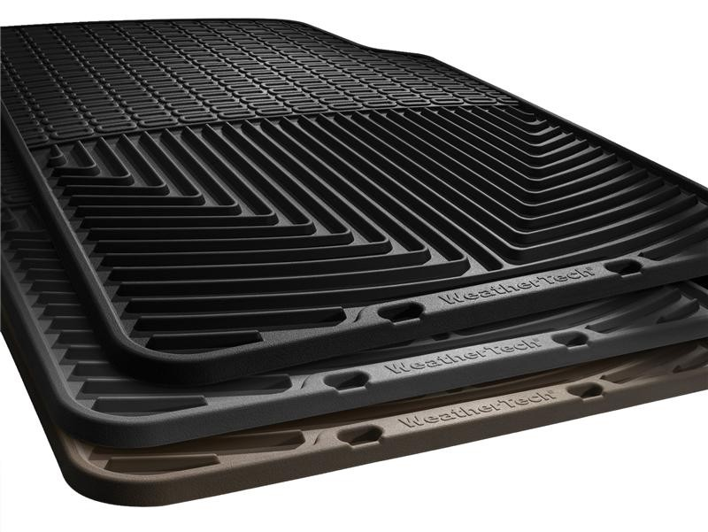 WeatherTech  Ford Fusion Rear Rubber Mats - Black (2013+)
