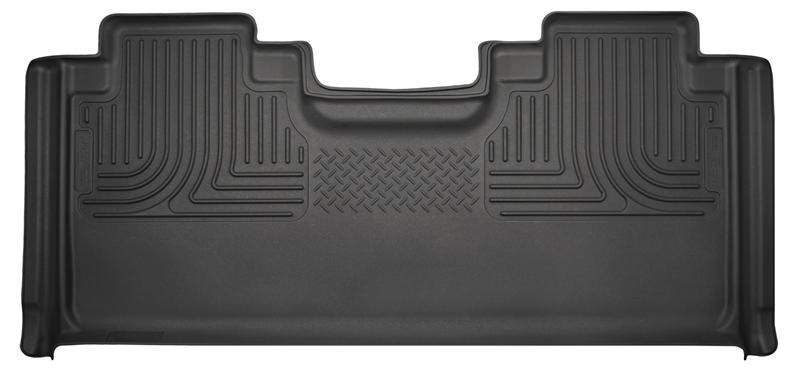Husky Liners F-150/F-250/F-350 WeatherBeater Black SuperCab 2nd Seat Floor Liner (2015-2021)