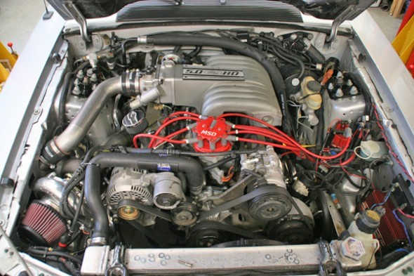 Hellion Power Systems Fox Body Mustang Single Turbo System (1979-1993)