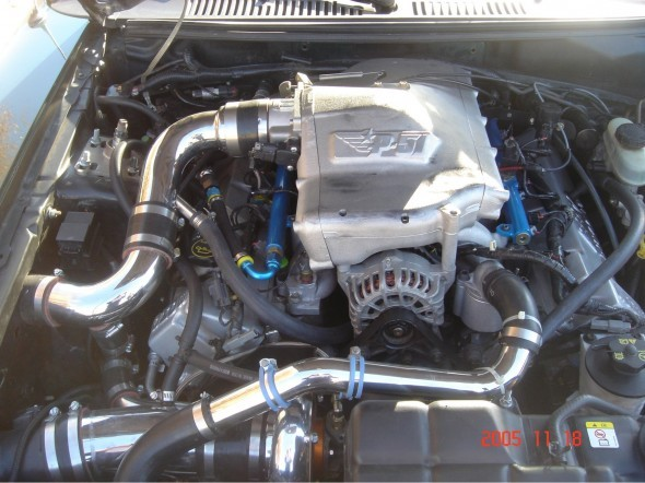 Hellion Power Systems Mustang GT/2001 Bullit Single Turbo System (99-04)