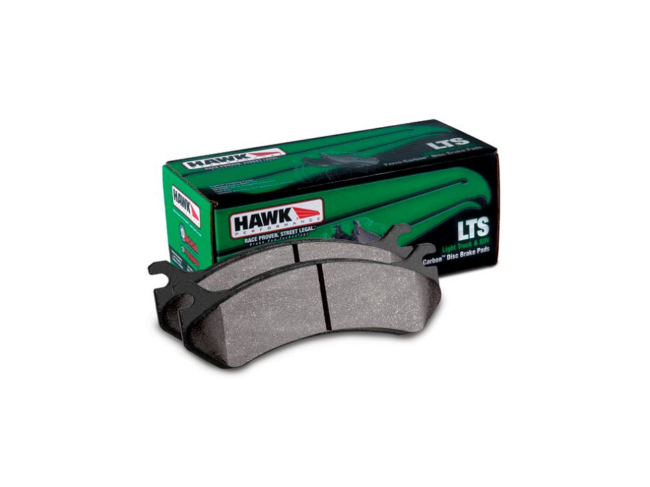 Hawk LTS Rear Brake Pads (2012.5-2016 F-150 / 12-14 Raptor)
