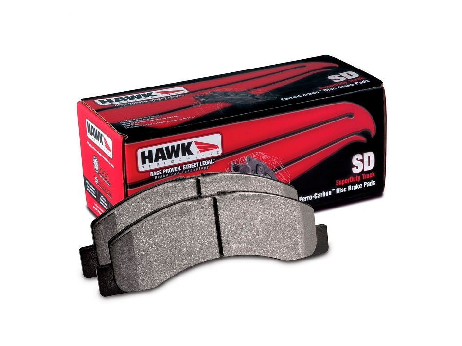 Hawk Severe Duty Front Brake Pads (05-12 F-250/F-350 Super Duty)