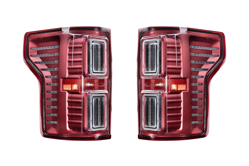Morimoto F-150 XB LED Tail Lights - Red (2015-2020)