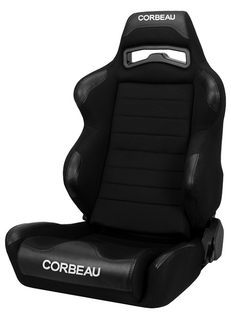 Corbeau LG1 Mustang Wide Racing Seat - Pair (1979-2020)