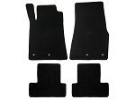 Lloyd Mats Mustang Black Floor Mats - Front and Rear (13-14 All)