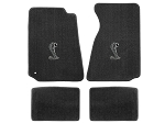 Lloyd Mats Mustang Grey Floor Mats w/ Cobra Logo (94-00 Coupe/99-00 Convertible)