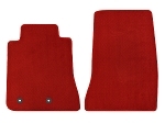 Lloyd Mats Mustang Red Floor Mat - Front Only (15-17 All)