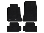 Lloyd Mats Mustang Black Floor Mats - Front & Rear (15-17 All)