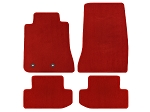 Lloyd Mats Mustang Red Floor Mats - Front & Rear (15-17 All)