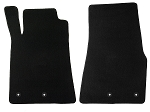Lloyd Mats Mustang Black Floor Mats - Front Only (13-14 All)