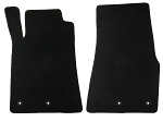 Lloyd Mats Mustang Black Floor Mats - Front only (11-12 All)