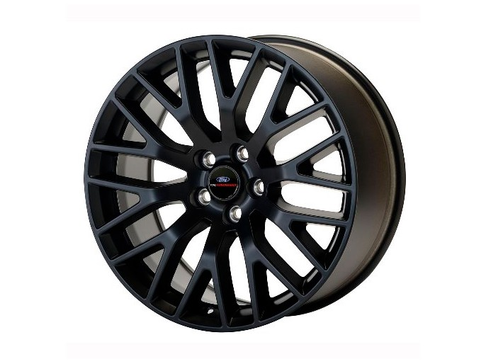 Ford Performance Mustang Performance Pack Staggered Wheel Set - Matte Black (2015-2021)