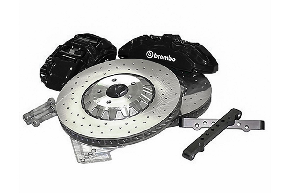 Ford Performance Mustang EcoBoost/GT GT350R Black Brake Upgrade Kit (2015-2021)