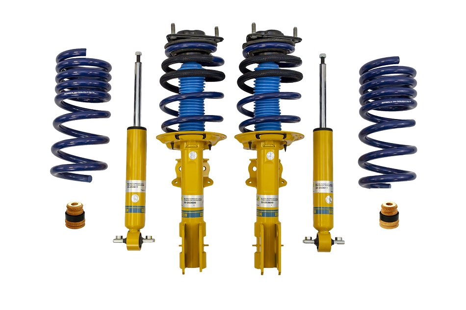 Steeda Mustang Bilstein Shocks, Struts & Lowering Springs Assembled Kit (2015-2021)