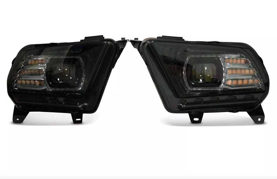 Morimoto Mustang XB LED Headlights Black Housing (2013-2014)