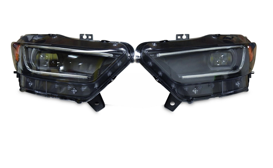 Morimoto Mustang XB LED Headlights Black Housing (2015-2017)