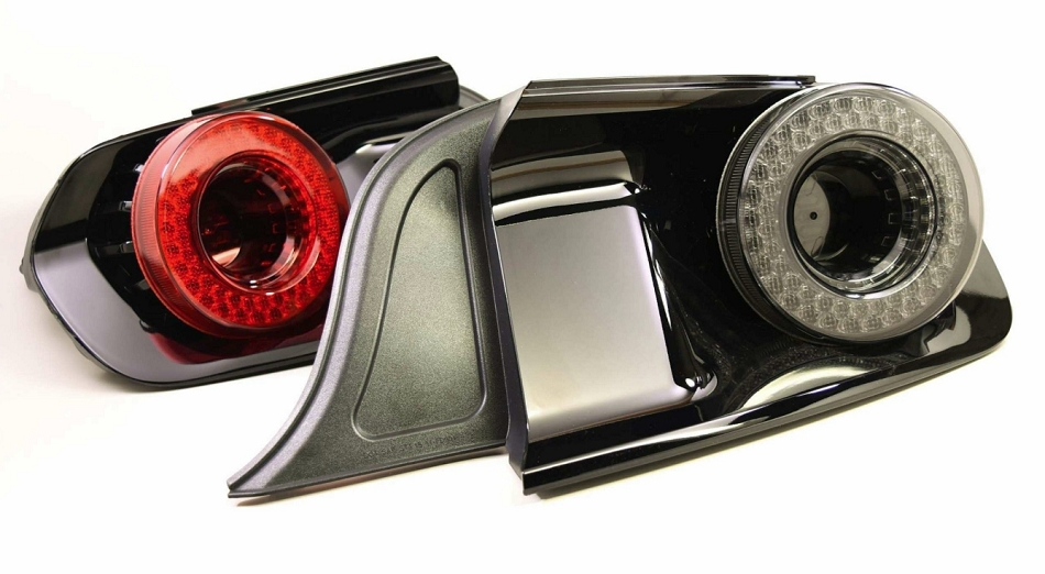 Morimoto Mustang XB LED Halo Tail Lights - Red (2015-2020)