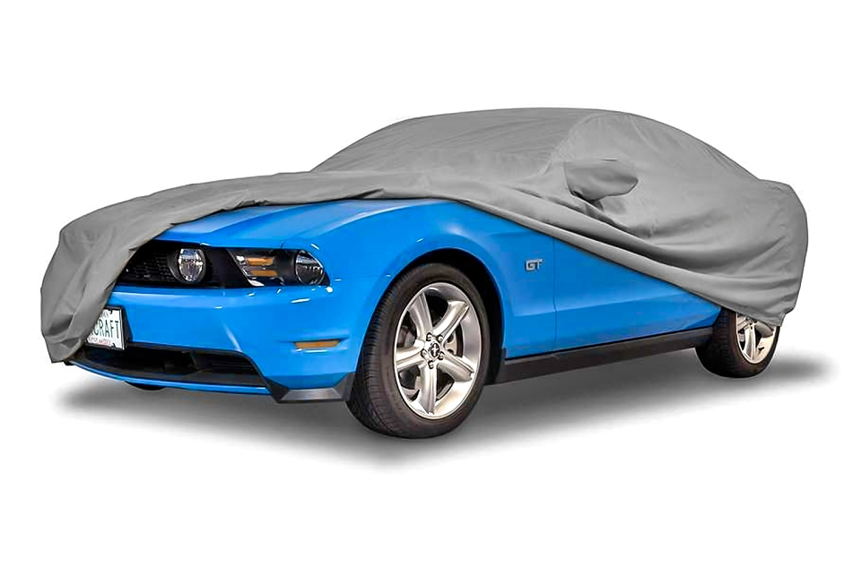 Covercraft Mustang GT/Cobra WeatherShield HP Exterior Gray Car Cover (1987-1993)
