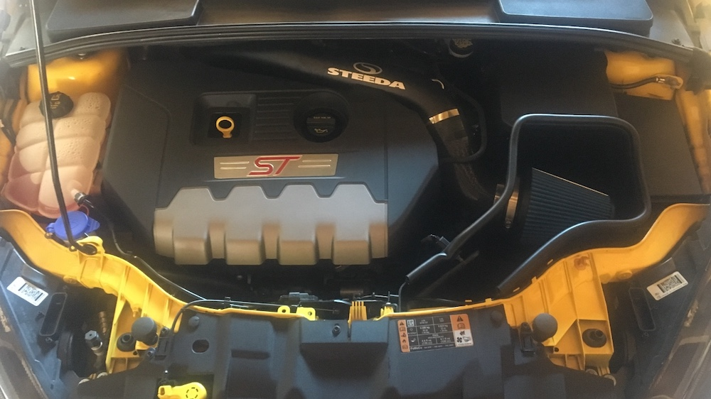 Ford Focus St Cold Air Intake >> Steeda Complete Focus St Cold Air Intake 15 18 St 555 3209