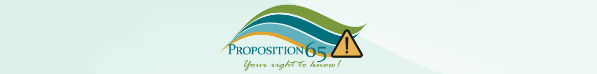 About California Proposition 65
