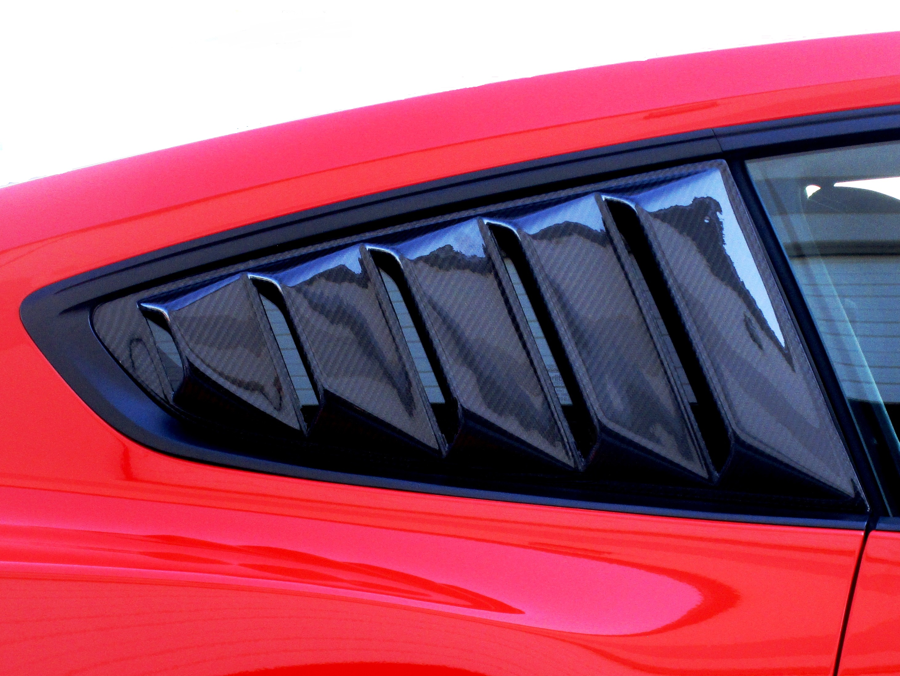 Quarter Window Louvers