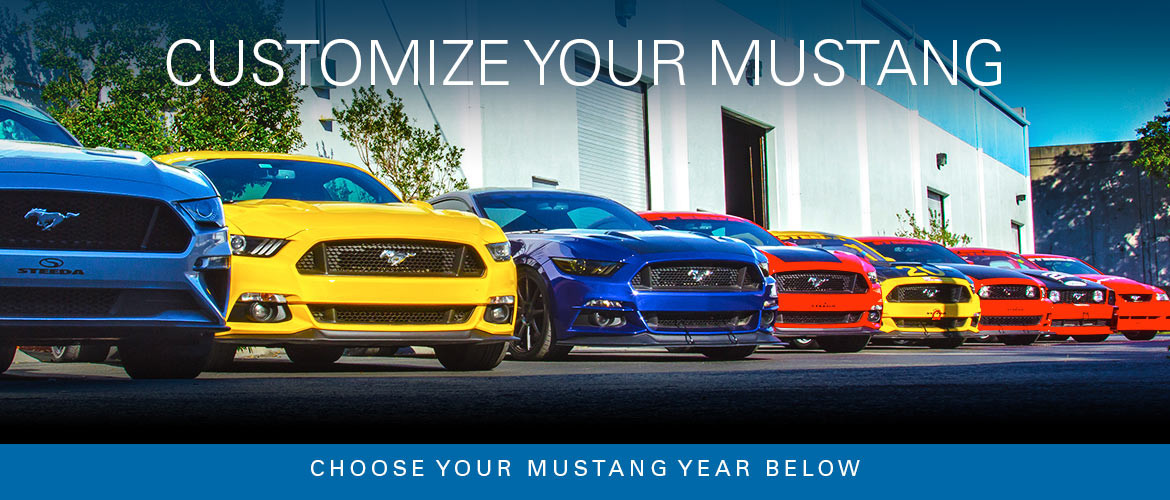 Ford Mustang Performance Parts & Accessories | Steeda com
