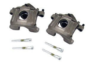 Brake Calipers; Brakes; Steeda Autosports carries a wide selection of brake calipers for the 1979-1993 Ford Mustang Fox Body. These are high quality components that have OEM fitment and meet or exceed OEM specifications.