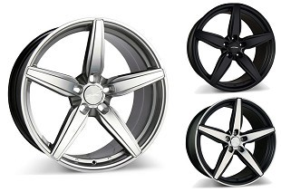 Ace Alloy Couture; Wheels;