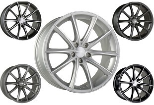 Ace Alloy Convex; Wheels;