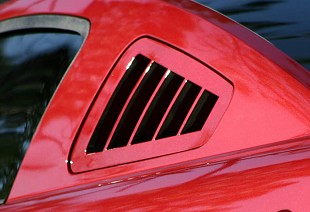 Quarter Window Louvers; Body Kits;