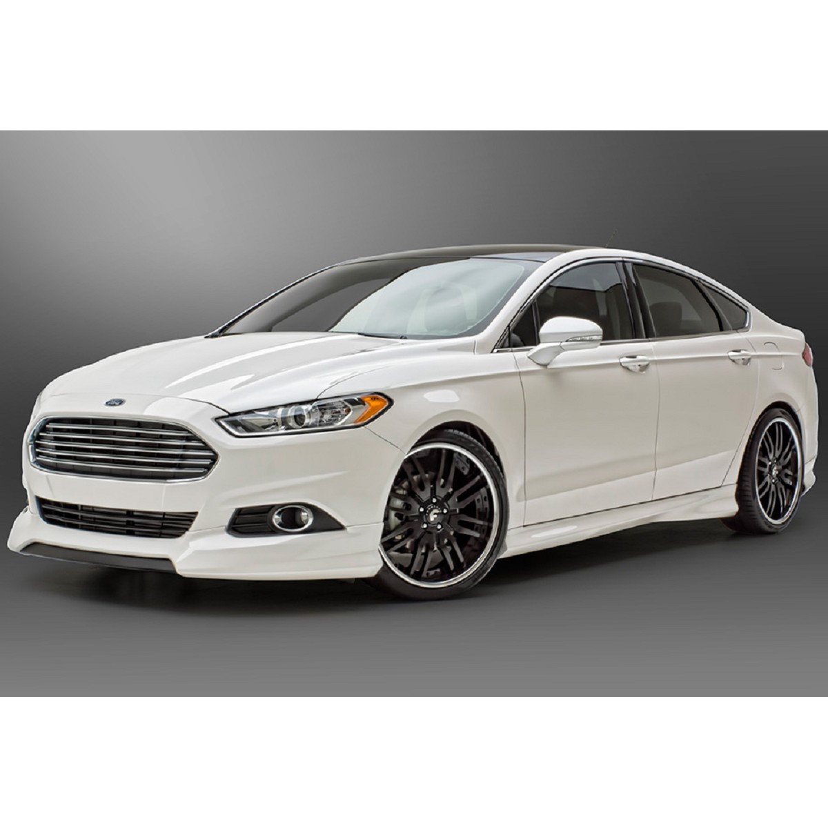 3d carbon 4 piece ford fusion body kit 13 14