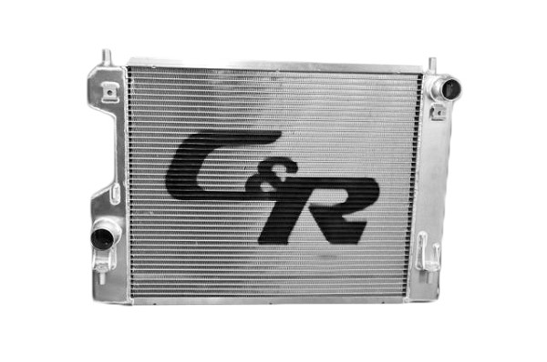 C&R Mustang Extruded Tube Aluminum Radiator (07-14 GT500)
