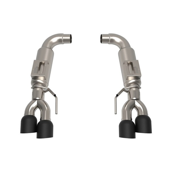 "Kooks Mustang GT 5.0L to 3"" Axle Back Exhaust w/Black Tips (2018+)"