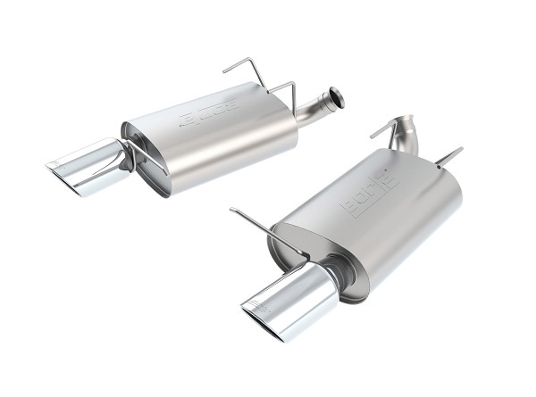 Borla Mustang V6 Touring Axle-Back Exhaust - Polished Tips (2011-2014)