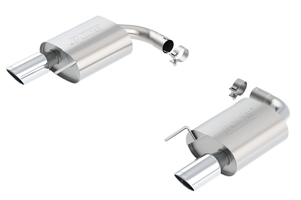 "Borla Mustang GT Single Split 2.5"" S-Type Axle-Back Exhaust w/ Chrome Tips (2015-2017)"