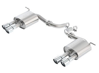 "Borla 2.25"" S-Type Quad-Tip Axle-Back Exhaust 2.7L Ford Fusion Sport (2017)"
