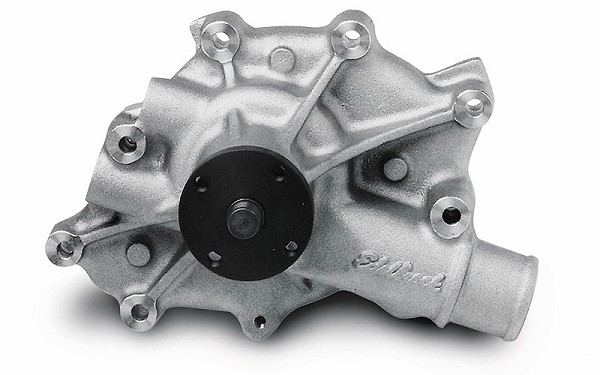Edelbrock Mustang High Flow Performance Victor Series Water Pump - Satin (86-93 5.0L)