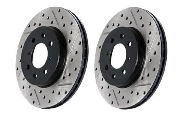 StopTech Explorer Drilled & Slotted Rotor Rear Right (2012-2019)