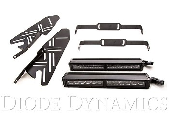 "Diode Dynamics Raptor 12"" White Wide Light Bar"