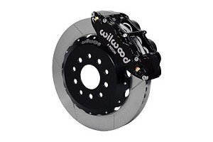 Wilwood Mustang Superlite 6R Front Brake Kit w/ 13 in. Slotted Rotors - Black (2005-2014 All)