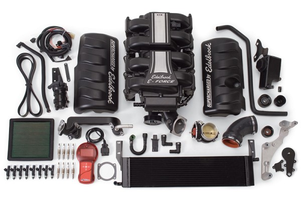Edelbrock Mustang GT E-Force Stage 1 Supercharger Kit (2005-2009)