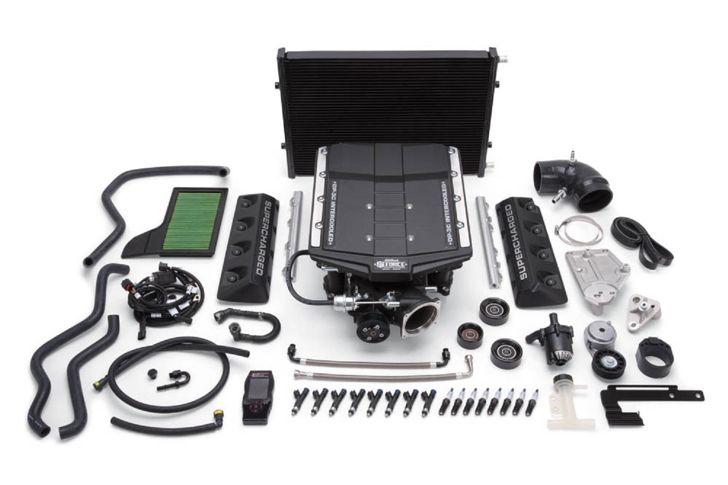 Edelbrock Mustang S550 E-Force Supercharger 2650 TVS Stage 3 Pro Tuner  (2015-