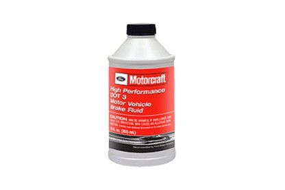 Motorcraft High Performance DOT 3 Motor Vehicle Brake Fluid