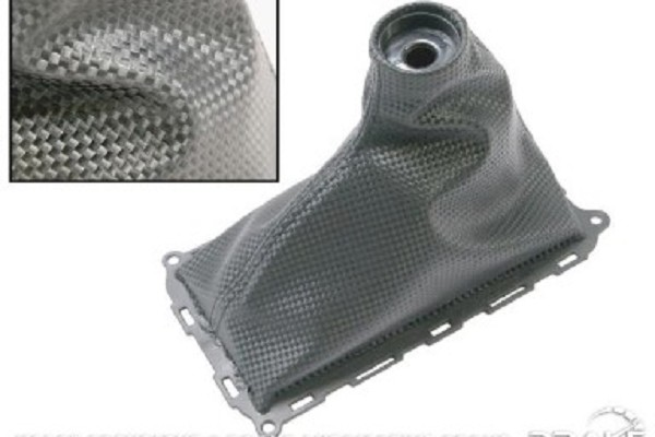 Drake Mustang V6/GT Shift Boot Carbon Fiber Look (2010-2014)