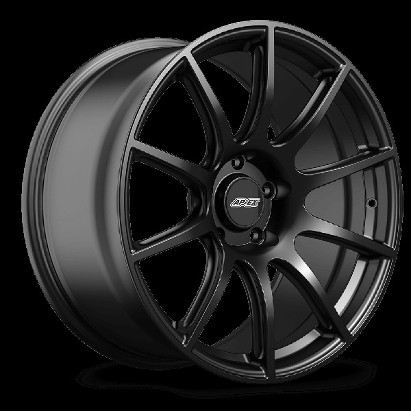 "Apex SM-10 Mustang 19x11"" ET 52 Satin Black Wheel (2005-2019)"