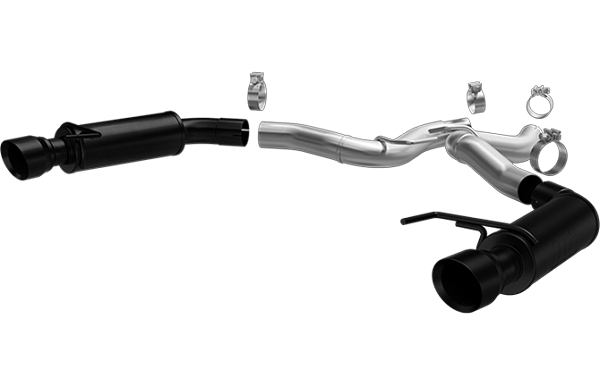 Magnaflow S550 Mustang GT Black Series Competition Axle-Back Exhaust (2015-2017)