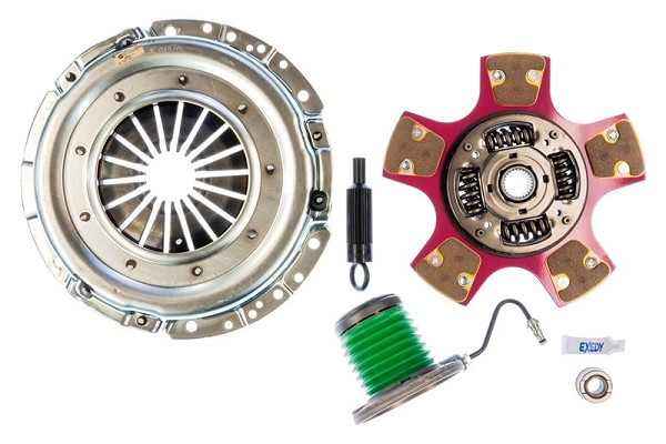 EXEDY Mach 600 Racing Stage 2 Cerametallic Clutch Kit, Paddle Style Disc, 26 Spline Mustang (2005-2010)