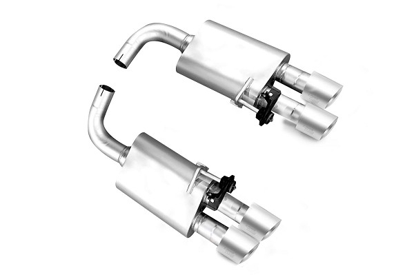 LTH Mustang GT Axle-Back Exhaust System, Titan Tips (2018-2019)