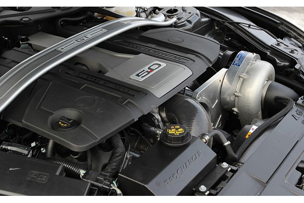 ProCharger S550 Mustang GT 5.0L High Output Intercooled Supercharger System P-1SC-1 W/ Factory Airbox (2018-2019)