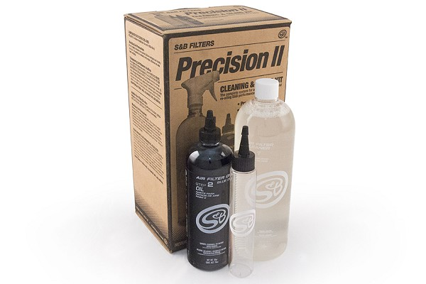 Precision Focus Air Filter Cleaning Kit - Blue Oil (00-16 All)